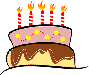 300x255 185 Birthday Candles Clipart Public Domain Vectors