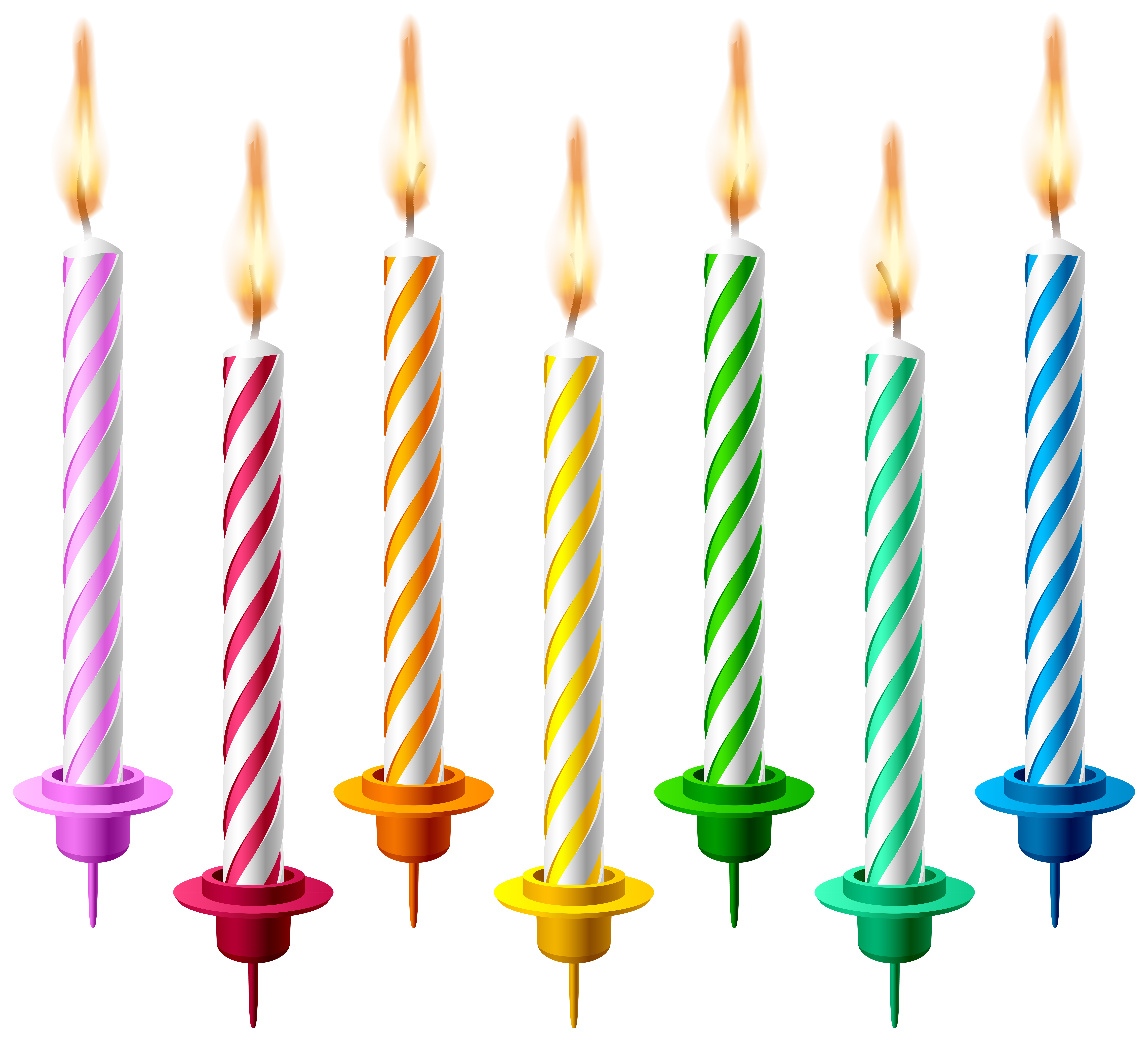 8000x7248 Birthday Candles Png Transparent Clip Art Imageu200b Gallery