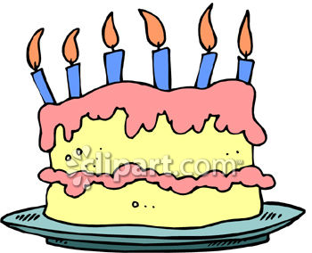 350x284 Cake Clipart 6 Candle