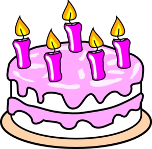 298x291 Birthday Cake Clip Art