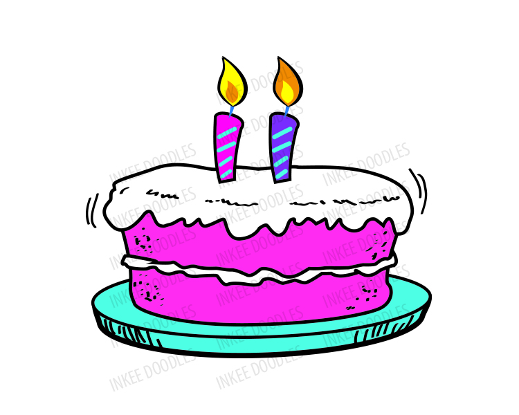 750x600 Cake Clipart 2 Candle