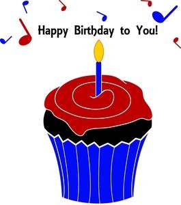 265x300 Free Cupcake Clip Art Image