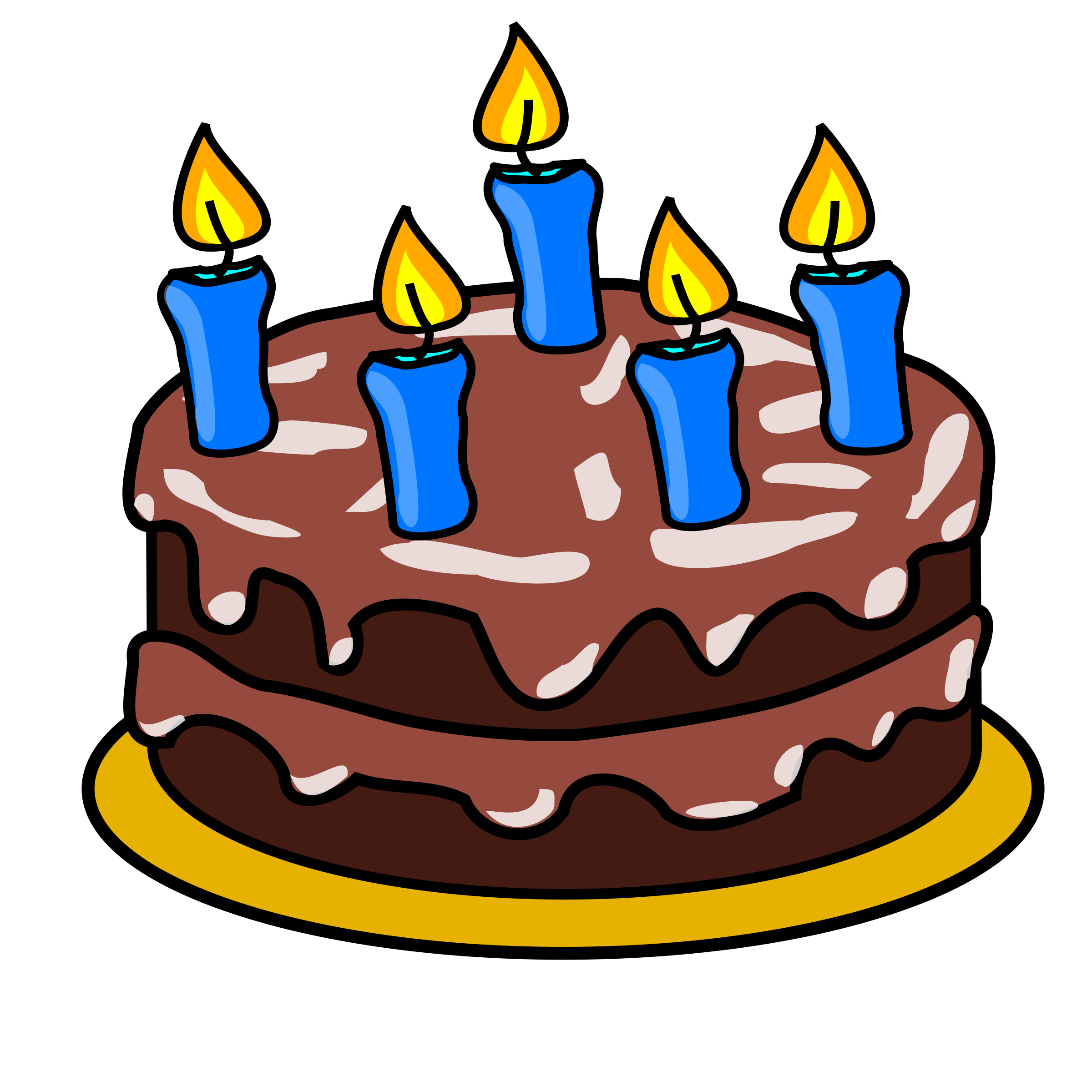 2400x2400 Free Birthday Cake Clip Art Clipart Images