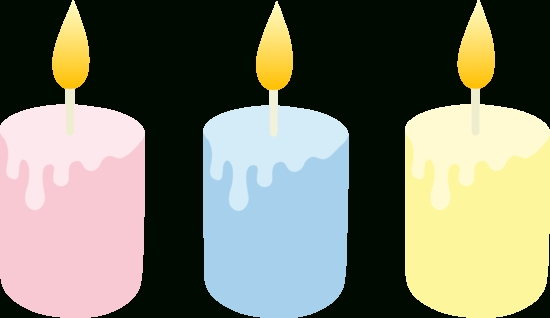 550x318 Birthday Candle Clipart 5 Candles Clip Art Image