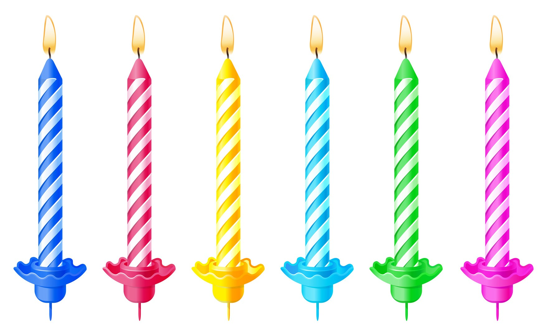 1757x1081 Birthday Candle Transparent Background, Pc Birthday Candle