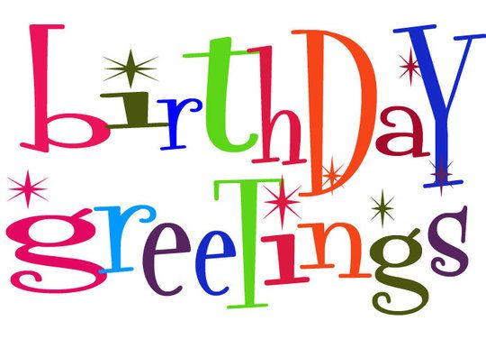 540x386 Free Happy Birthday Clip Art Images