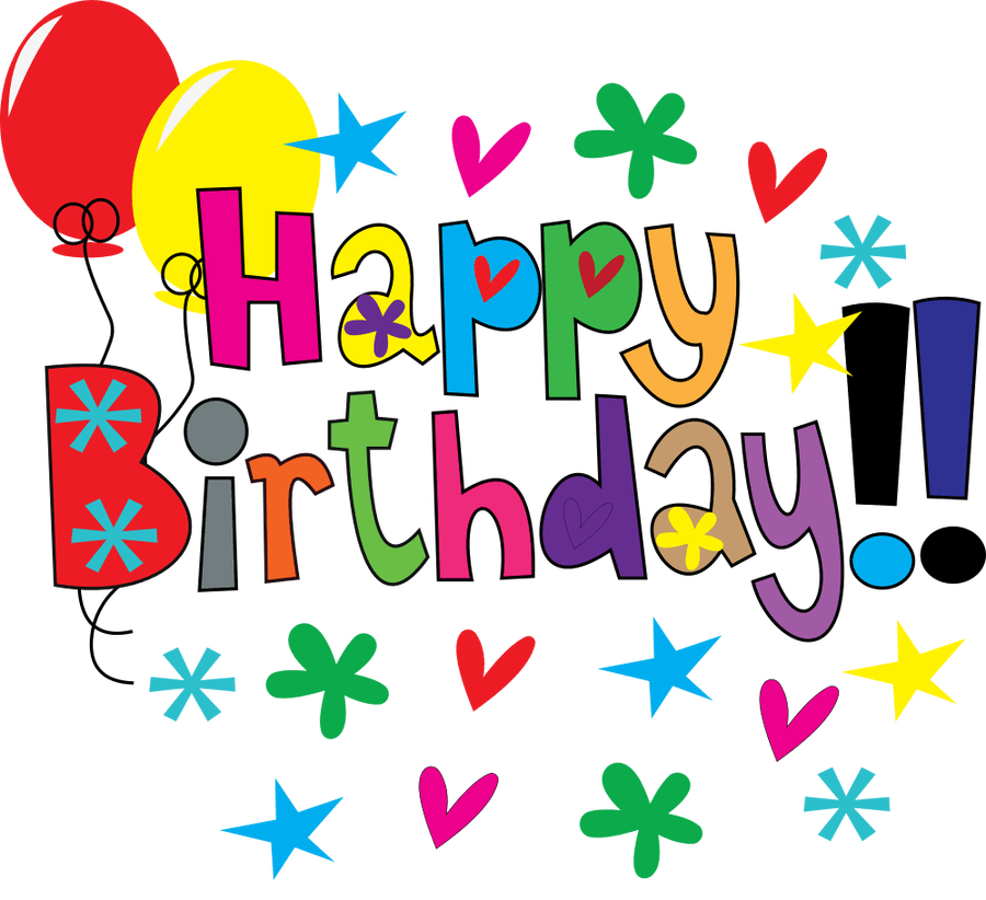 900x822 Happy birthday clip art flowers clipartfest