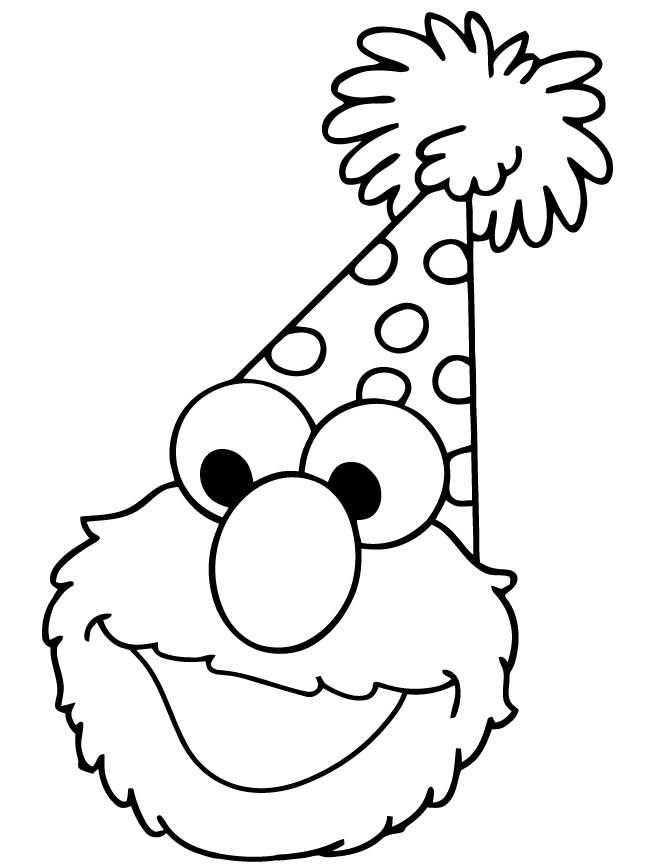670x867 58 Best Happy Birthday Coloring Pages Images Happy