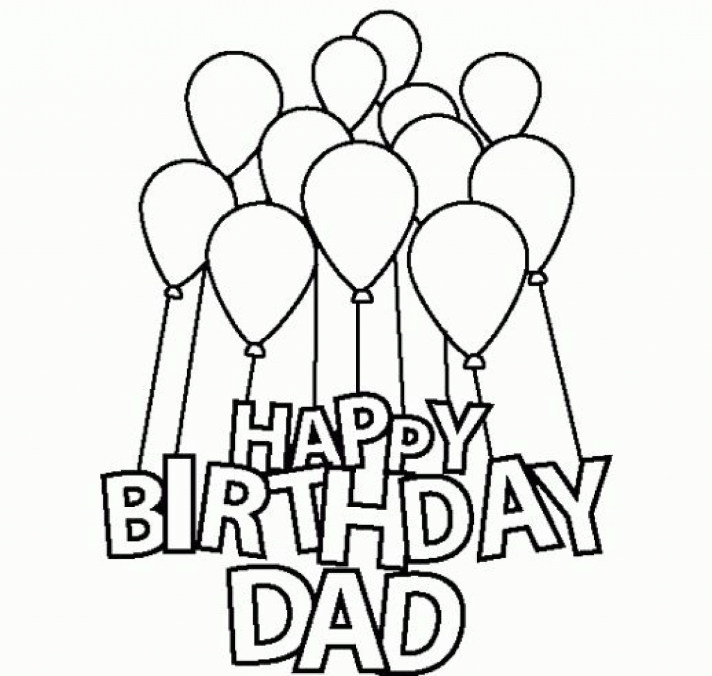 Birthday Coloring Pages | Free download best Birthday Coloring Pages ...