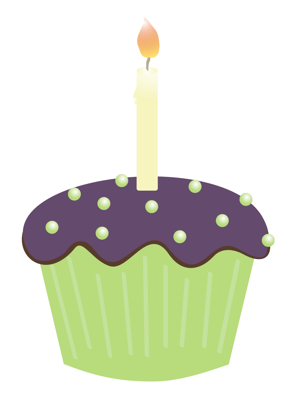 1020x1380 Muffin Clipart Candle