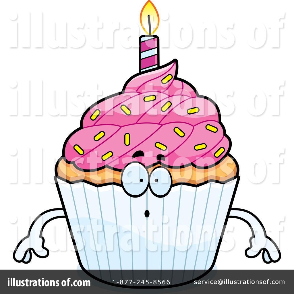 1024x1024 Birthday Cupcake Clipart