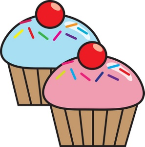 297x300 Cup Cakes Clipart