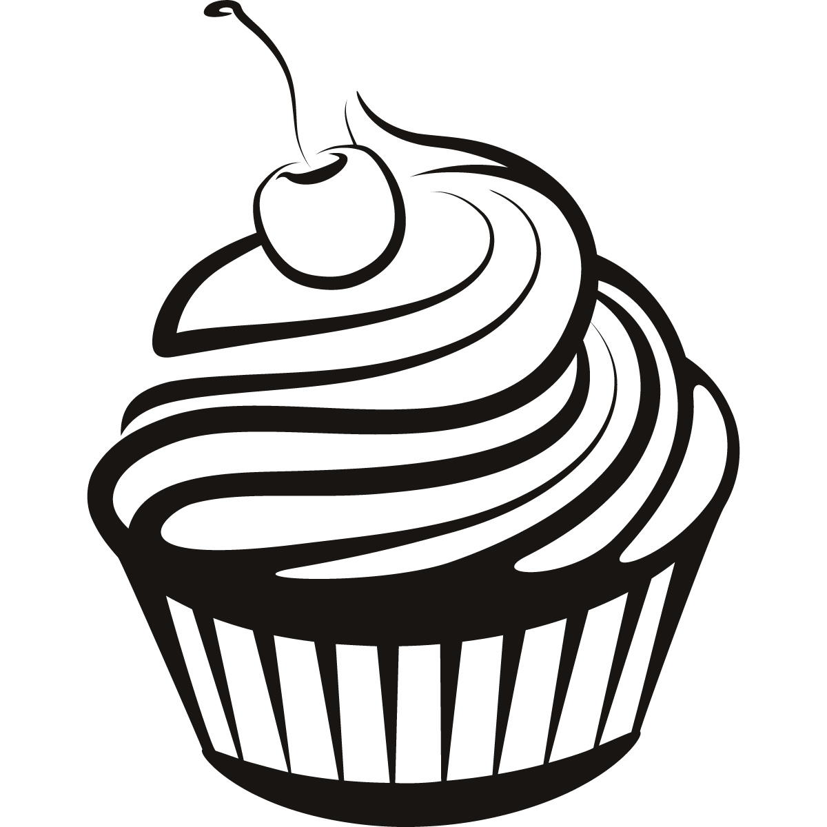 1200x1200 Cupcake Drawings And Cupcakes Clipart