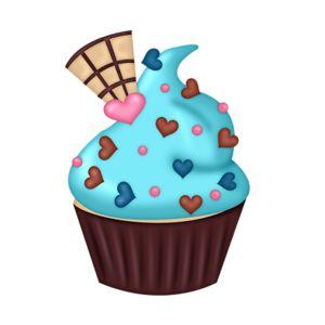 300x300 199 Best Clip Art Cupcakes )) Images Clip Art