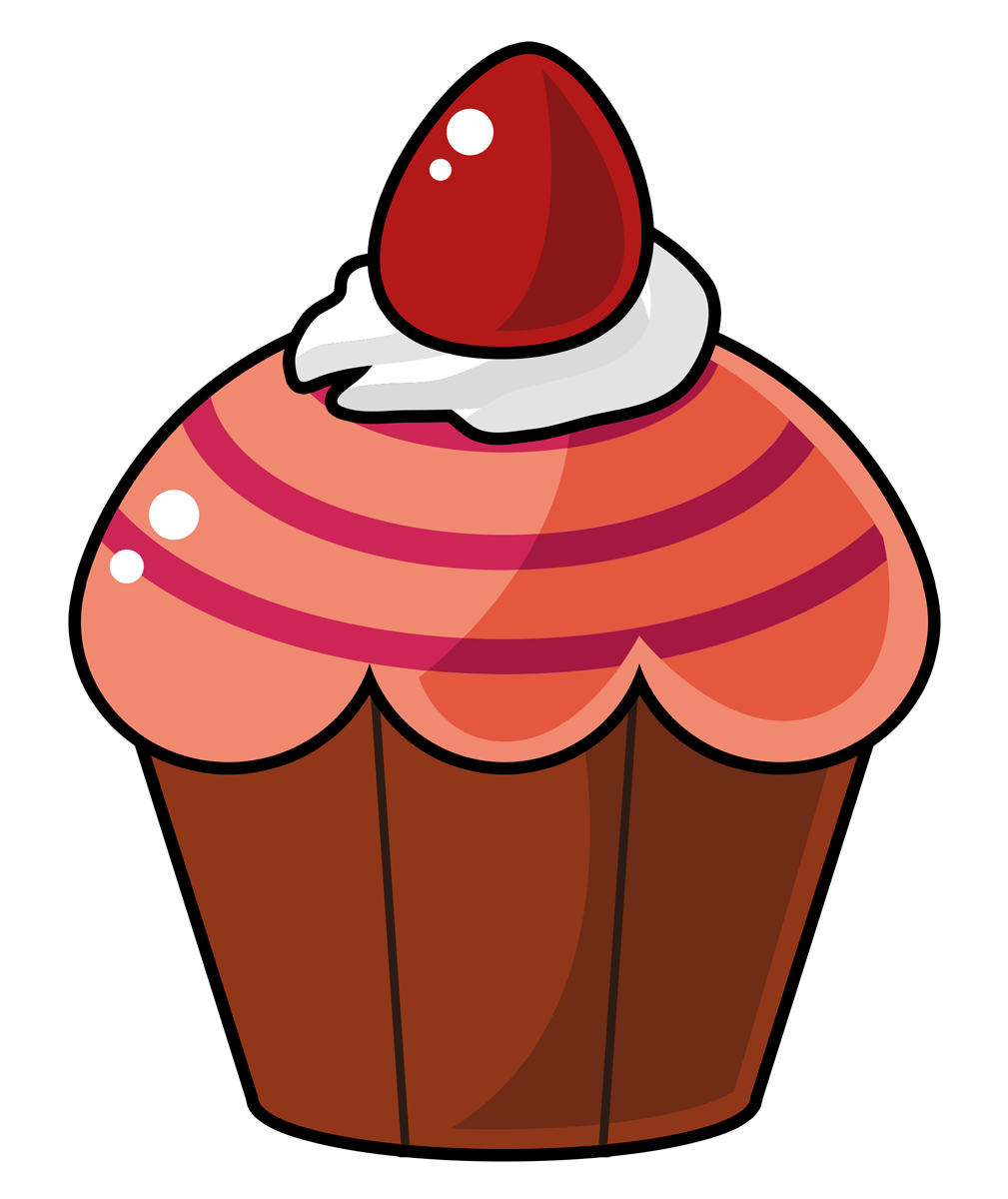 1009x1200 Cupcake Free To Use Clip Art 2