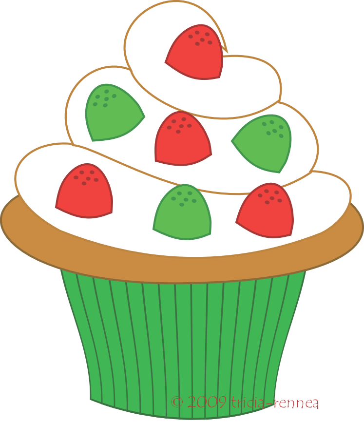 747x868 Cupcakes Clip Art Free Clipart Images