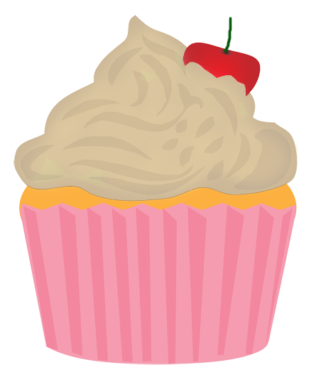 438x531 Cute Birthday Cupcake Clip Art Free Clipart Images Clipartcow