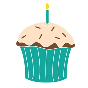 300x300 Happy Birthday Cupcake Clipart Free Images 6