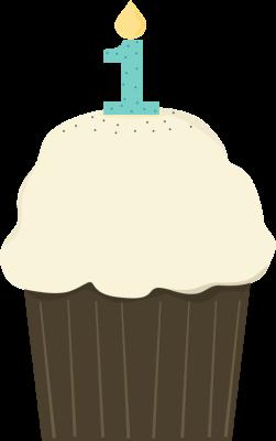 251x400 Vanilla Cupcake Clipart