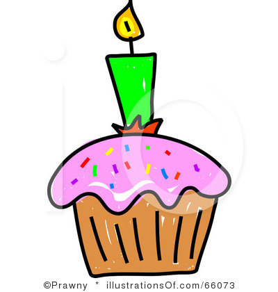 400x420 Birthday Cupcake Clipart Images