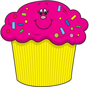 310x300 Best Birthday Cupcake Clipart