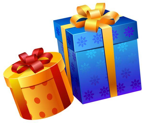 600x511 Box Clipart Birthday Present