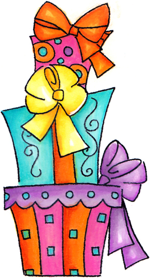 297x550 Gift Clipart Birthday Present