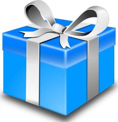 410x425 Birthday Present Clipart
