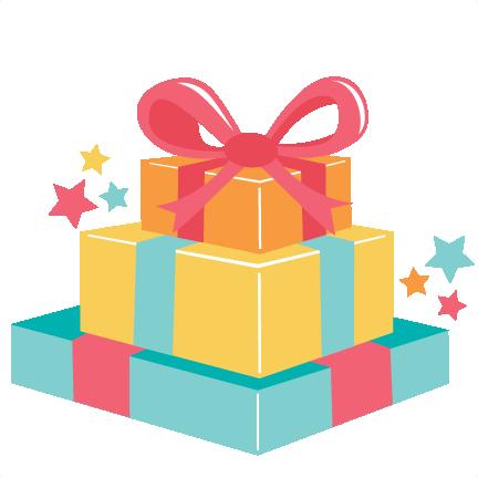 432x432 Birthday Gift Clip Art