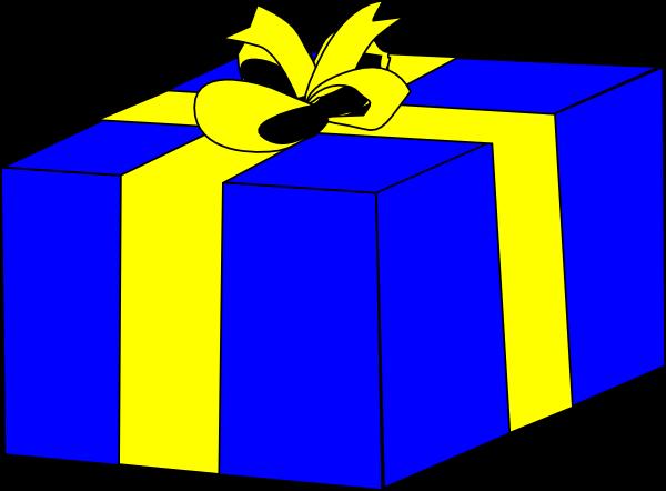 600x442 Birthday Gift Clipart