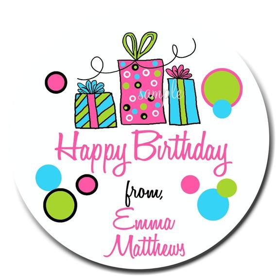 570x570 Birthday Gift Stickers Littlebeane Birthday Gifts New Hot