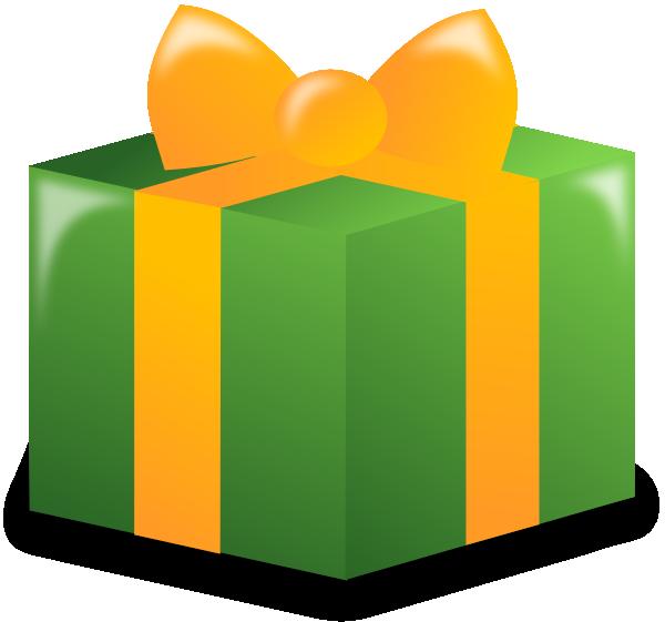 600x561 Clipart Birthday Present