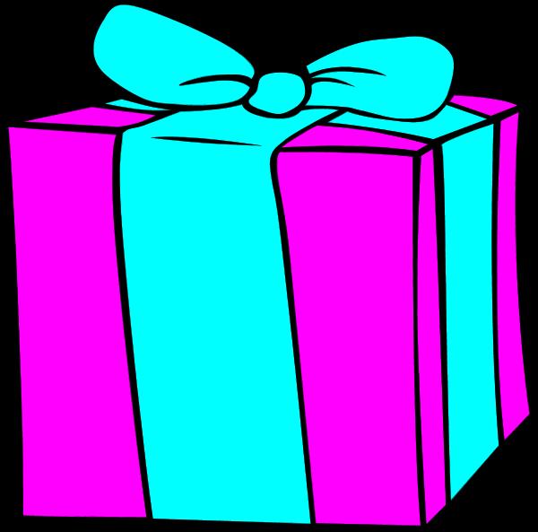 600x593 Free Birthday Present Clipart Image