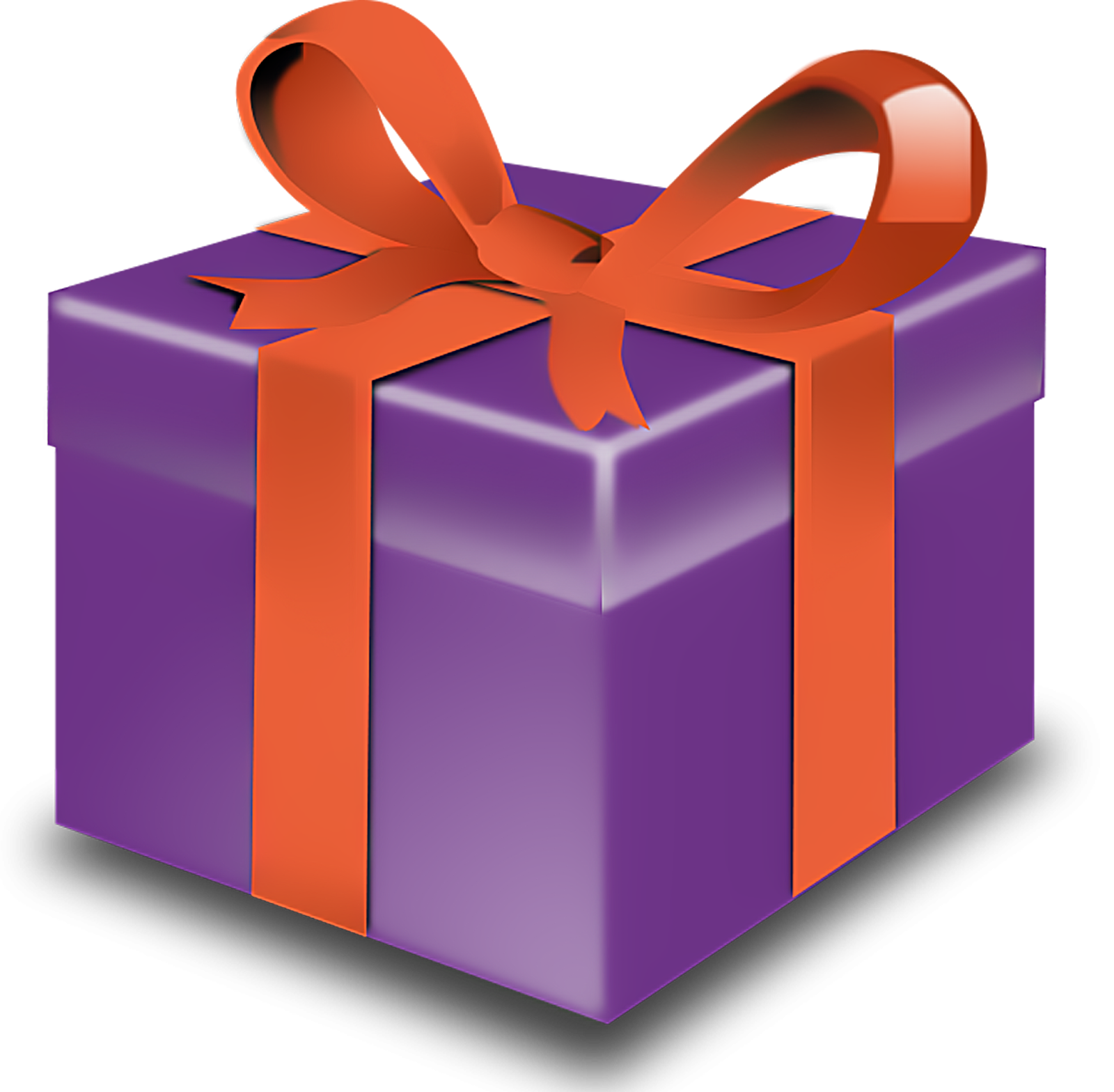 1600x1568 Gift Christmas T Clipart Transparent Background Clipartfest