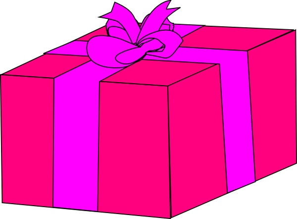 600x442 Gift Pink T Clipart Clipartfest 2