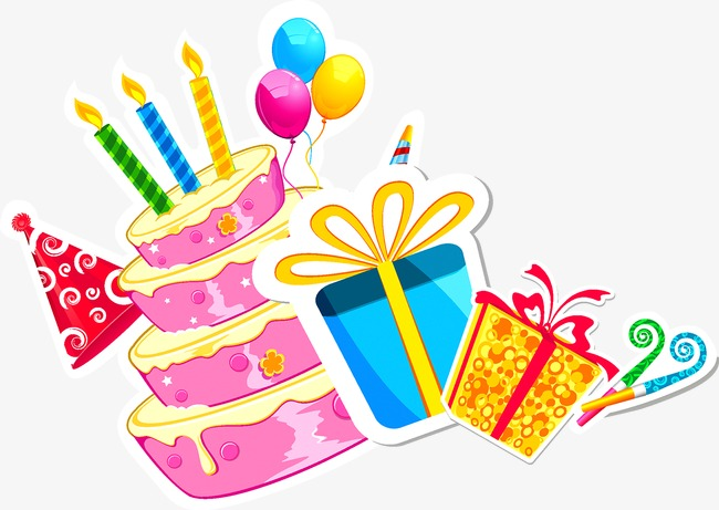 650x461 Birthday Cake, Birthday, Gift, Cake Png And Vector For Free Download