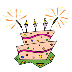 300x300 Animated Birthday Clipart Free