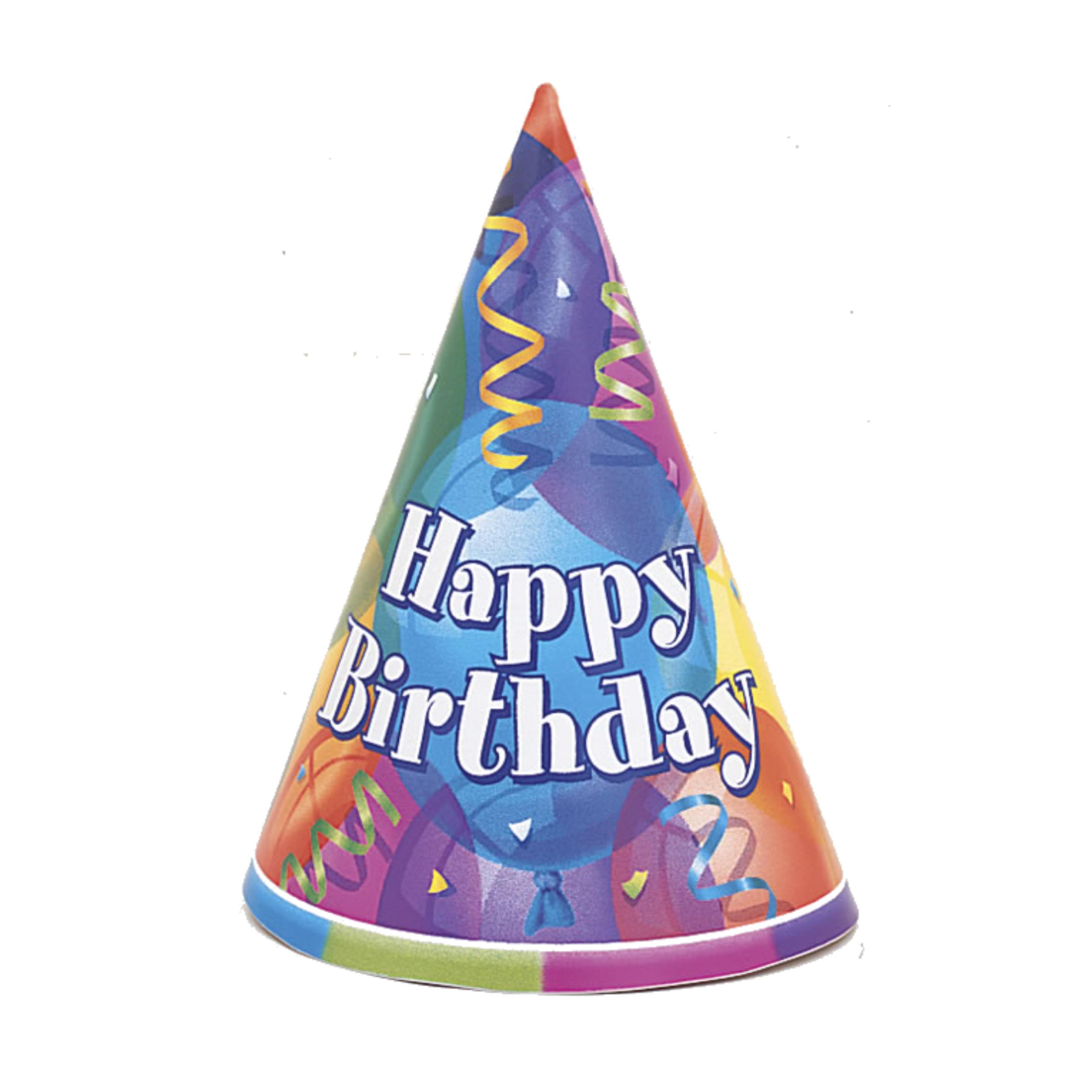 3189x3189 Birthday Hat Transparent Background Free Clipart 2