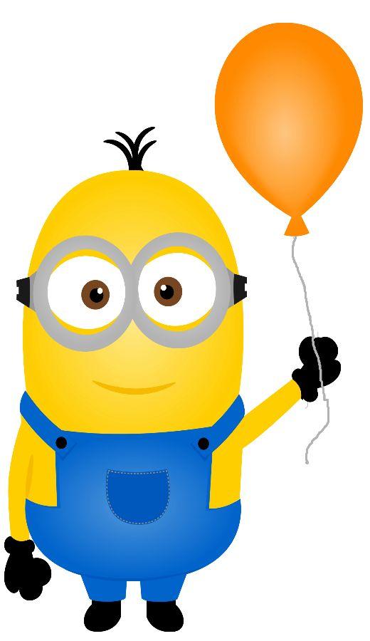 520x900 Birthday Minion Clipart