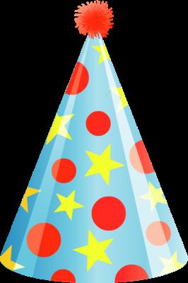 266x400 Clipart Hat Party