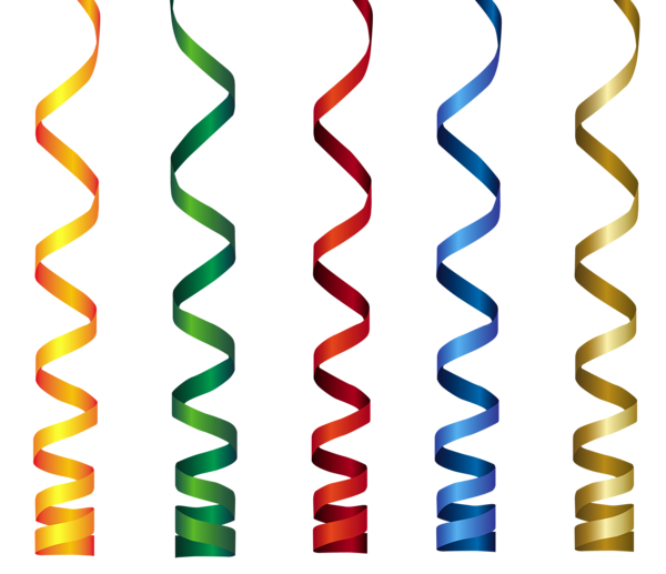 600x517 Curly Ribbons Transparent Png Clip Art Image Birthday Clip