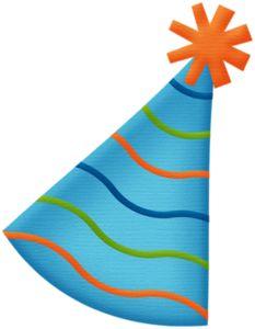 233x300 Orange Clipart Party Hat