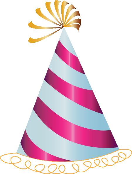 450x594 Pink Party Hat Clip Art