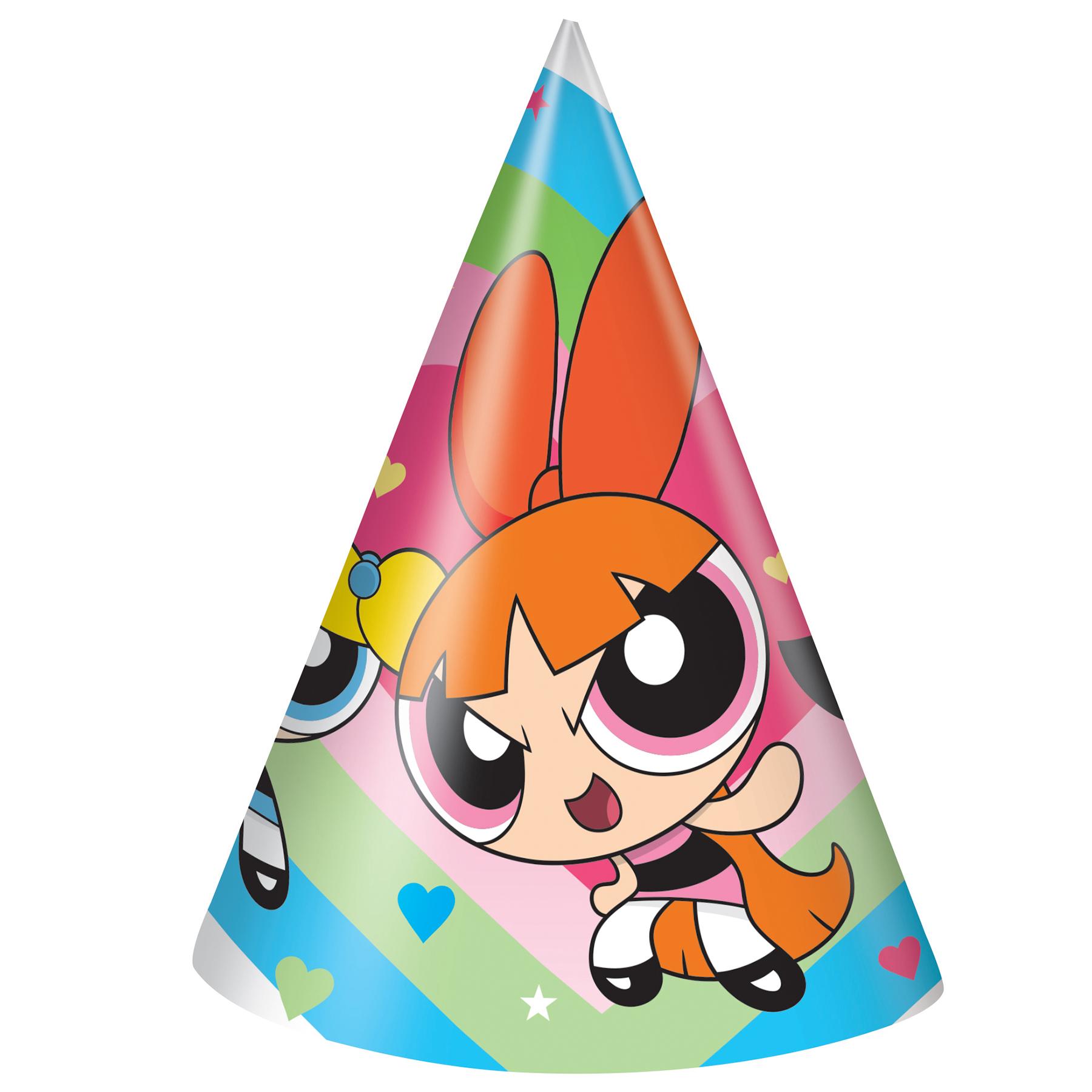 1800x1800 Powerpuff Girls Birthday Hats Powerpuff Girls Party Accessories