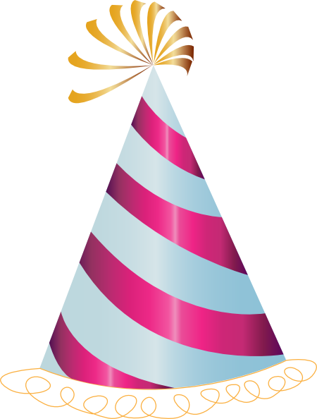 450x594 Birthday Hat Png