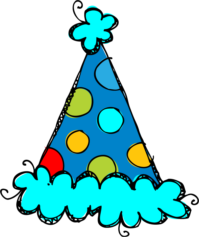 805x960 Birthday Hat Clipart 4