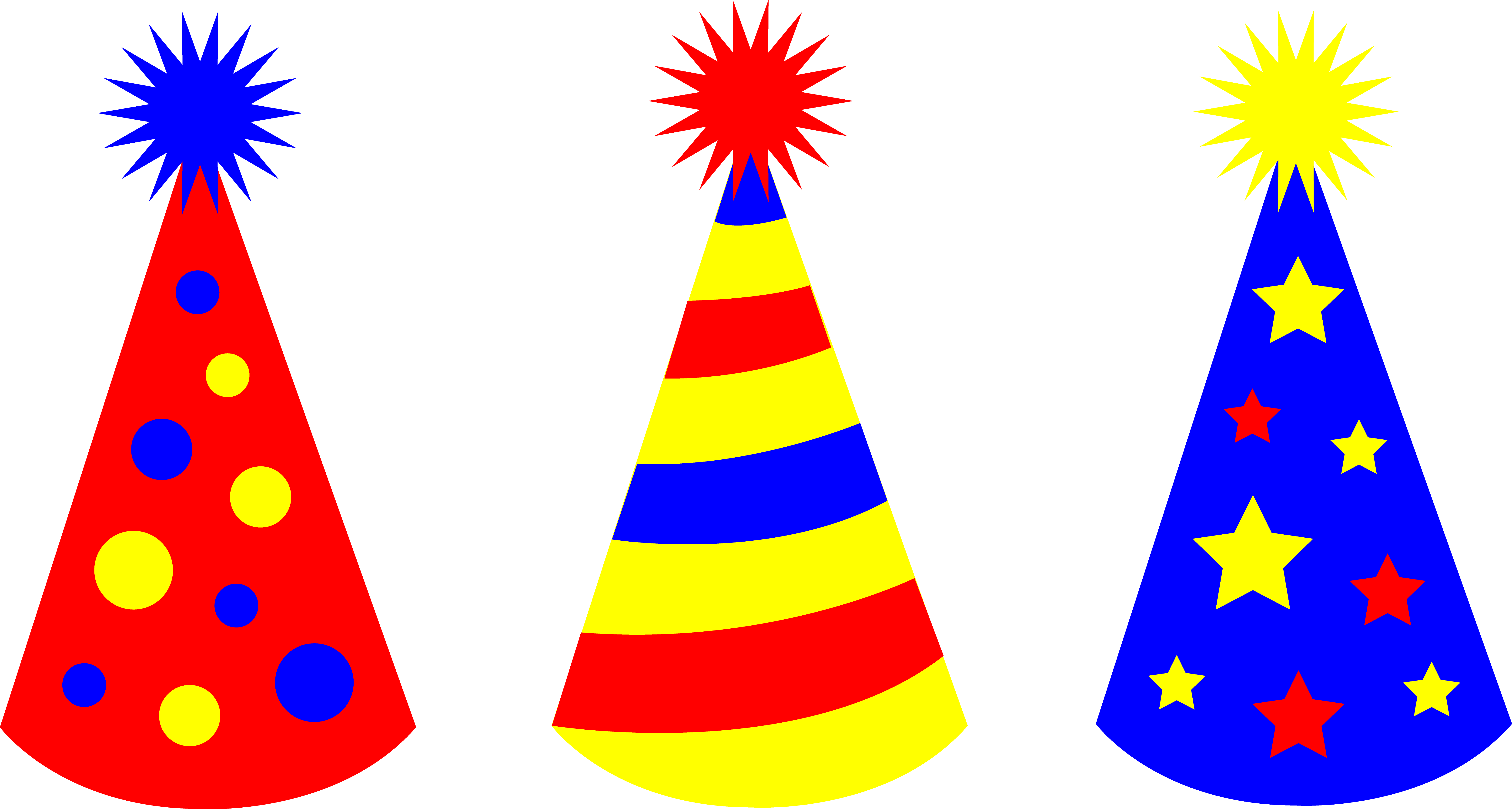 6500x3476 Cone Clipart Party Hat