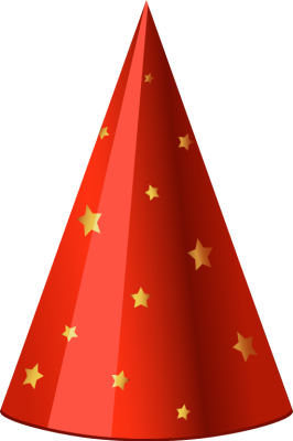 266x400 Red Hat Birthday Clipart