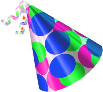 354x318 Best Birthday Hat Png