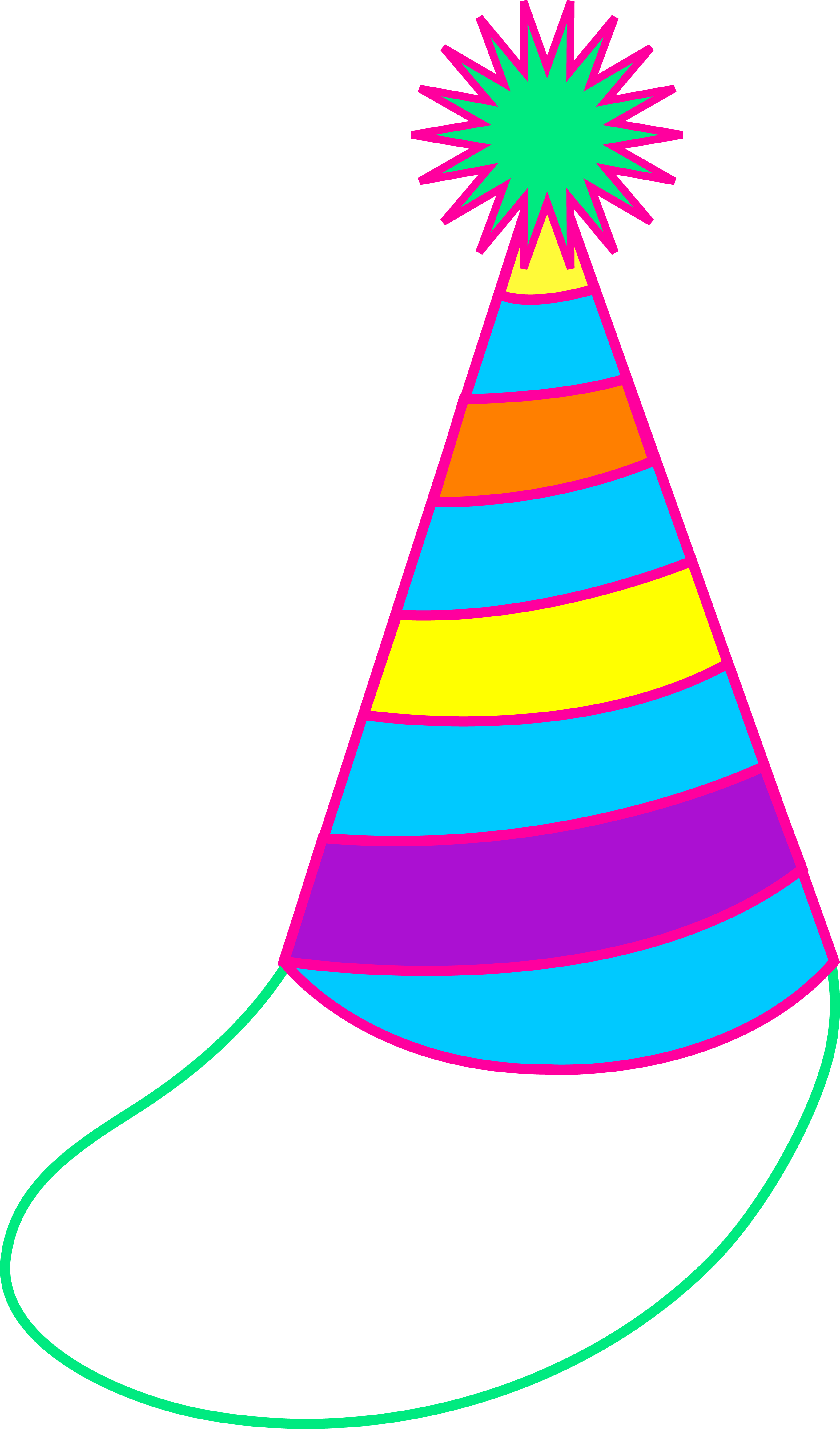 2729x4641 Birthday Hat Clip Art Free Clipart Images